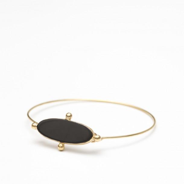 Bracelet Paule Aimée Onyx