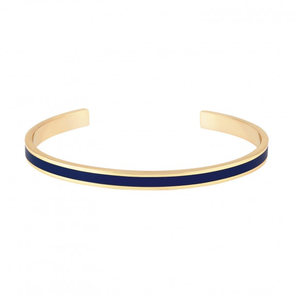 Jonc Bangle Bleu nuit