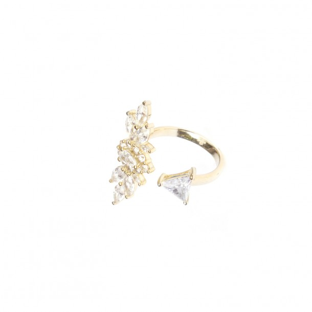 Bague Star Flower Maxi