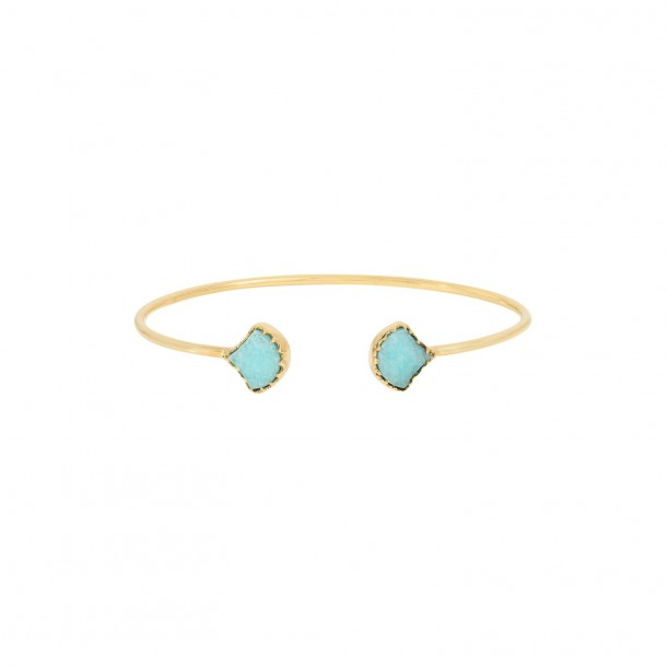 Bracelet drift Amazonite