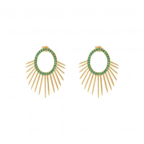 Bijoux d'oreilles Urchin