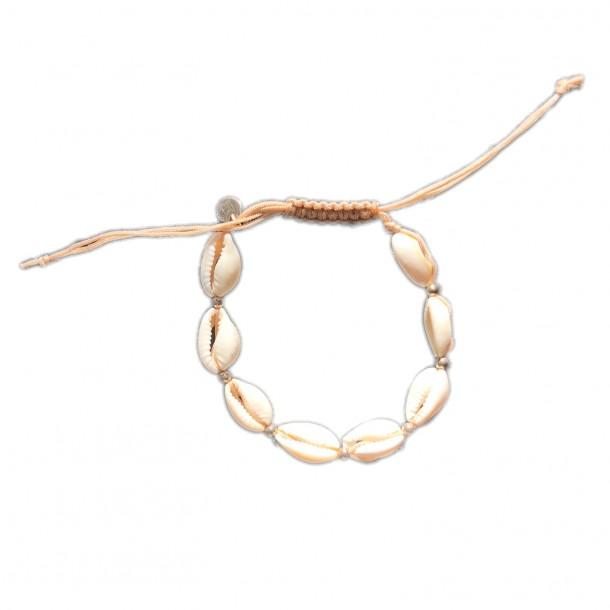 Bracelet d'été coquillages