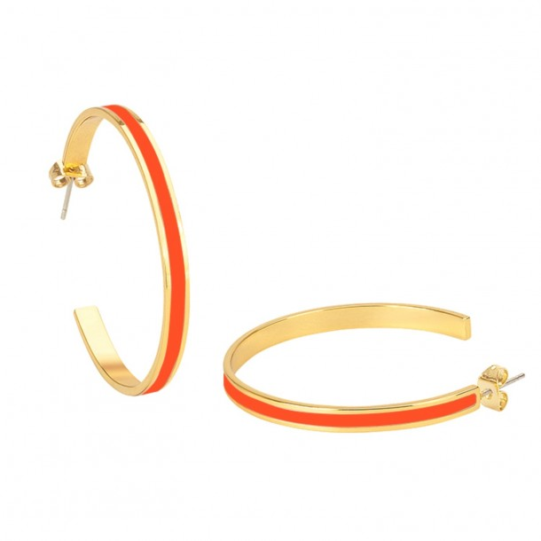 Créoles Bangle Tangerines