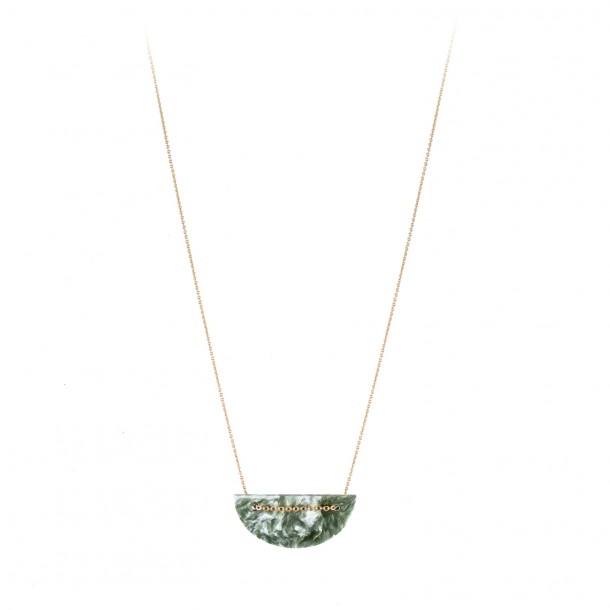 Collier moon seraphinite