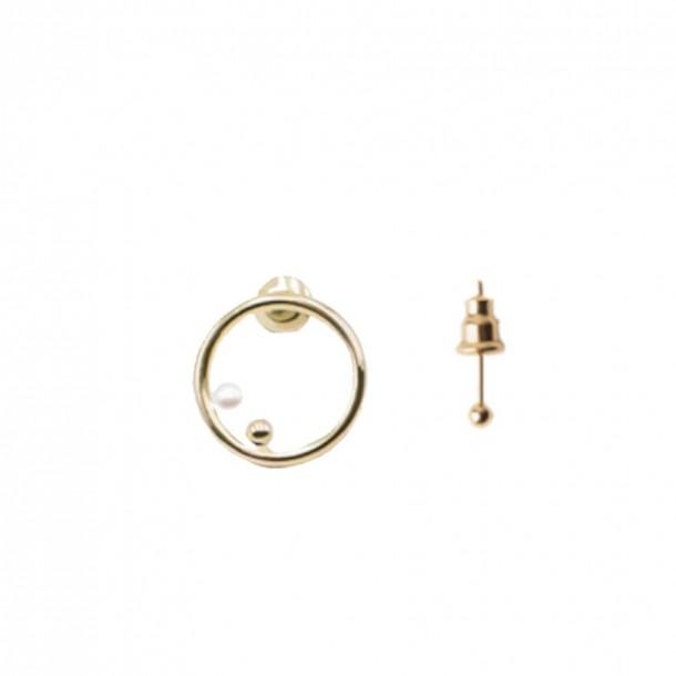 Bijoux d'oreilles Galatée pearl