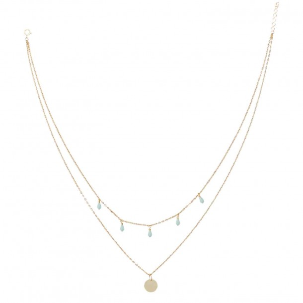 Collier Double Mimosa