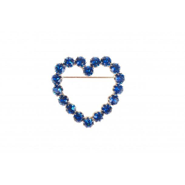 Broche Lola Bleue