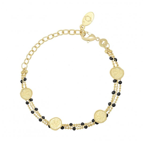 Bracelet Olympe Noir