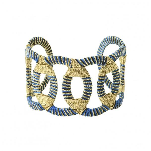 Manchette Osiris Bleue