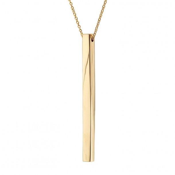 Collier Thin Bar